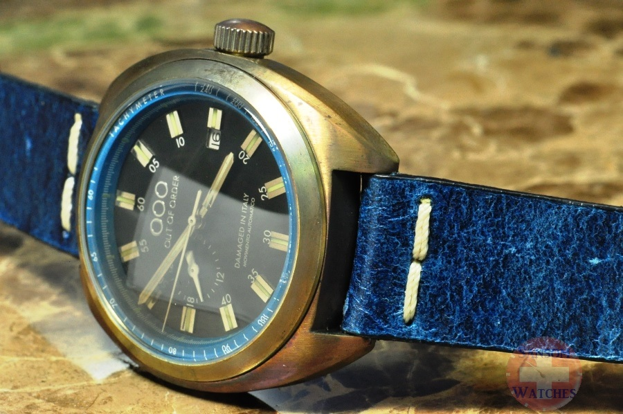 Omega Authorized Dealer >> Out of Order OOO Torpedine BLUE Case – Steel Patina 42mm – Sansom Watches, Rolex, Breitling ...
