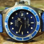 OUT OF ORDER Quartz / Faded Blue Jeans / 40mm Vintage Blue Submariner