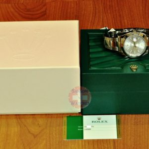 Rolex Datejust II 116300 41mm Mens with Silver Index Dial Box / Card Never Worn