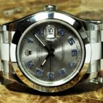 Rolex Datejust II 116300 41mm Mens with Silver Arabic Dial Box / Card Never Worn