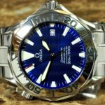 Omega Seamaster 300m Chronometer Divers 2255.80 Electric Blue Dial
