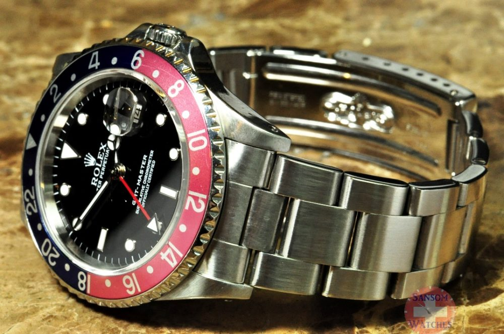 Rolex GMT Master Red / Blue Pepsi Model 16700