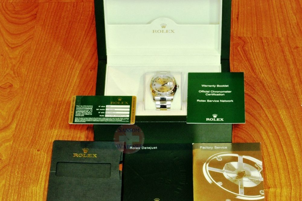 Rolex Datejust 36 with Box Papers Card model 116234 philadelphia discount