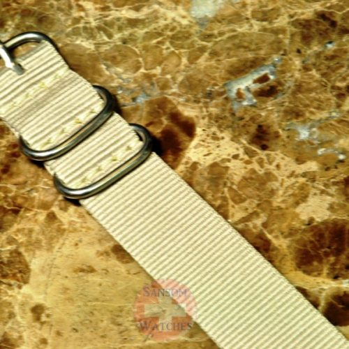 NATO Watch Strap Zulu 22mm Tan