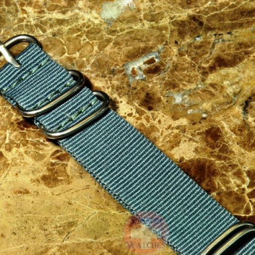 NATO Watch Strap Zulu 22mm Grey