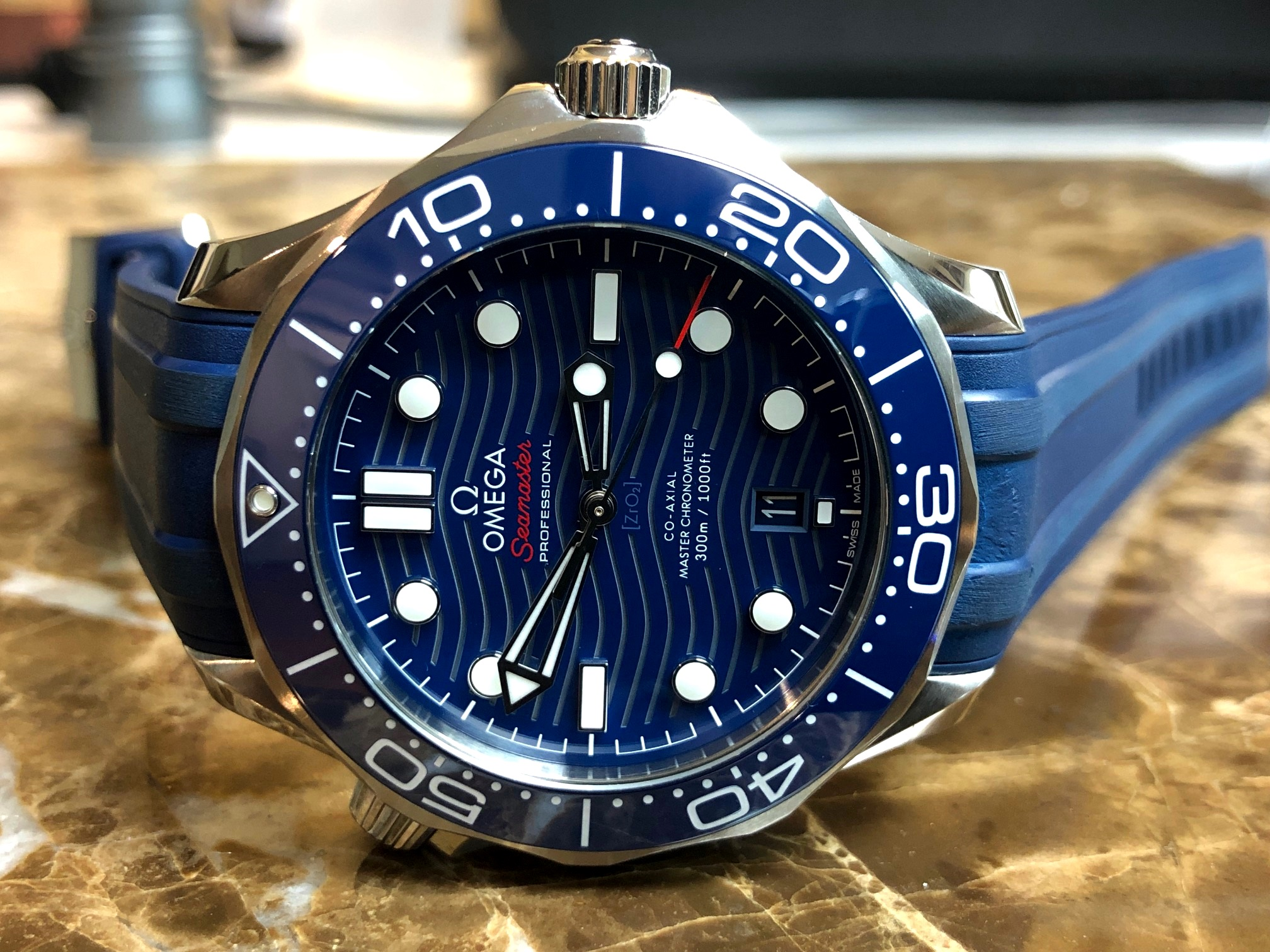 Omega Seamaster Diver 300m Omega Co‑axial Master 42 Mm