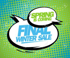 Spring is coming sale