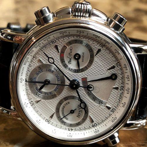 Paul Picot Atelie Chronometer Rattrapante Technicum with Power Reserve Indicator 8888.4101